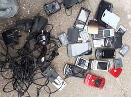 Vintage mobile phones