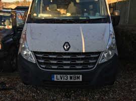 Renault master 2013 LWB van