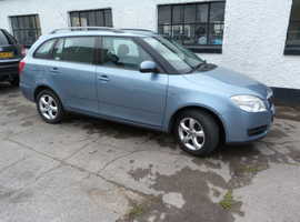 Skoda Fabia, 2009 (09) Grey Estate, Automatic Petrol, 52,000 miles