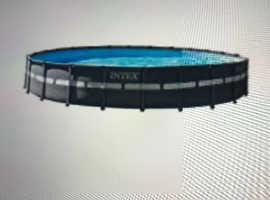 Swimming pool 24 ft x 52 inch round