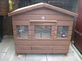 small pigeon or hen shed