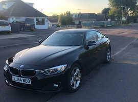 BMW 4 Series, 2014 (64) Black Coupe, Manual Petrol, 51,000 miles