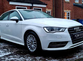 Audi A3, 2015 (15) white hatchback, Manual Diesel, 103,821 miles