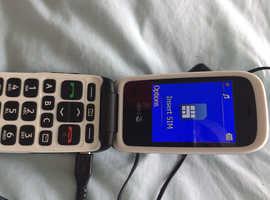 Doro mobile phone 6620 sim free