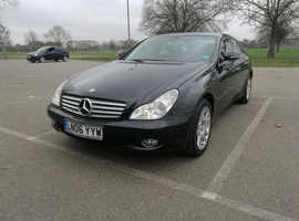 Mercedes Cls, 2006 (06) Black Coupe, Automatic Petrol, 73,000 miles