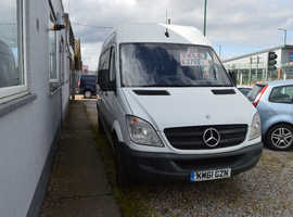2011 MERCEDES-BENZ SPRINTER 313 CDI MOT UNTIL SEPTEMBER 2020