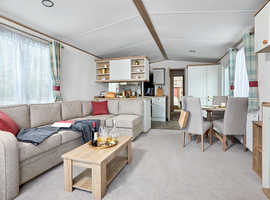 LUXURY HOLIDAY HOME WITH DECKING, PATIO FURNITURE, 2 YEARS SITE FEES CALL JOSH