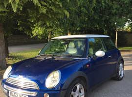 MINI Cooper 2003 Blue Hatchback, Manual Petrol, 88,000 miles