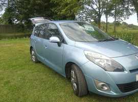 Renault Scenic, 2011 (11) Blue MPV, Semi auto Diesel, 69,300 miles