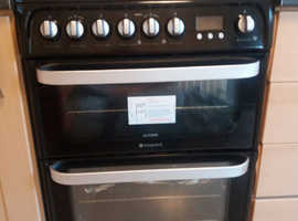 Hotpoint fan gri hob oven brand new