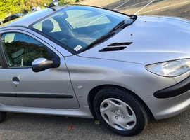 Peugeot 206, 2001 (51) Silver Hatchback, Manual Petrol, 110,531 miles