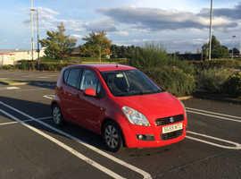 Suzuki Splash, 2009 (59) Red Hatchback, Manual Petrol, 76,000 miles