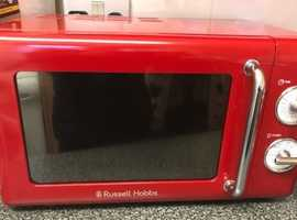 Microwave kettle and toaster all Russell Hobbs