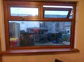 Double glazing living room window