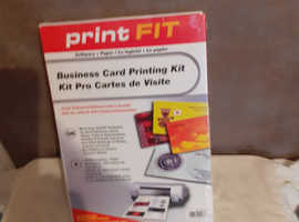 BRAND NEW BUSINESS CARD KIT