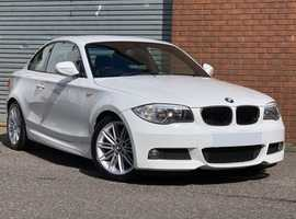 BMW 1 Series 2.0 118d M Sport Coupe Gorgeous in White, this BMW Coupe is in Immaculate Condition Throughout
