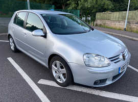 Volkswagen Golf, 2007 (07) Silver Hatchback, Manual Diesel, 134,000 miles