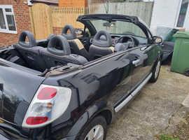 Citroen C3, 2008 (08) Black Convertible, Manual Petrol, 53,800 miles
