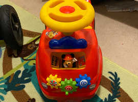 Mickey Mouse ride along fire truck