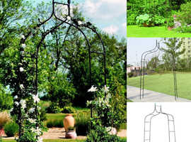 COSTWAY Gothic Rose Arbour for Gardens (GT3261)