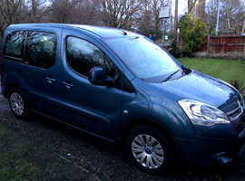 Citroen Berlingo Multispace, 2010 (60) Blue MPV, Manual Diesel, 71,000 miles