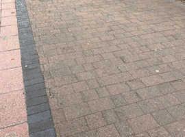 Tegula block pavers £300