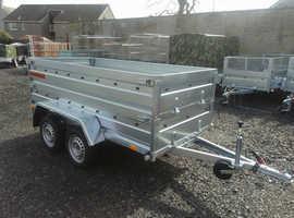 BRAND NEW Trailer 8,7 x 4,2 double axle double broadside £1100 in Kirkcaldy