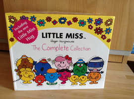 The Complete Collection of Roger Hargreaves Little Miss Books Including Little M