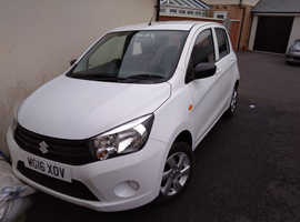 Suzuki SZ2 Celerio 2016 low mileage, zero tax, approx 70mpg, VGC, White