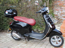 Piaggio Vespa Primavera 50cc EXC COND RUNS PERFECTLY AND LOW MILAGE