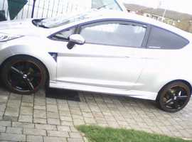 Ford Fiesta, 2010 (10) Silver Hatchback, Manual Petrol, 17,000 miles