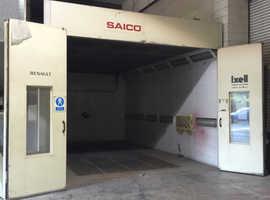 Saico Spray Booth Paint Oven