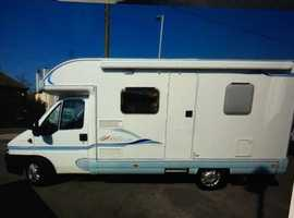 2004 fiat Ducato ace novella Modena 2 berth motor home 33'000 miles excellent condition