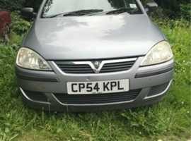 Vauxhall Corsa, 2005 (05), Manual Petrol, 125,910 miles