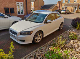 Volvo C30, 2008 (58) White Hatchback, Manual Petrol, 61,000 miles