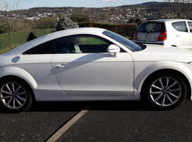 Audi TT, 2011 (11) White Coupe, Manual Petrol, 39,500 miles