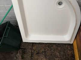 Bathroom fittings. Sink pedestal toilet shower