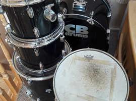 CB Drums Starter Kit Shells + Hardware (see description)