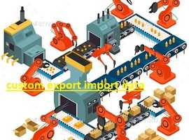 custom export import data