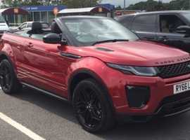 Land Rover Range Rover Evoque, 2017 (66), Automatic Diesel, 23,678 miles