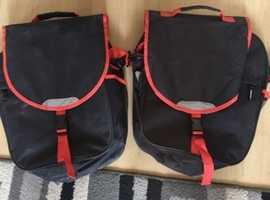 Bike pannier bags x2