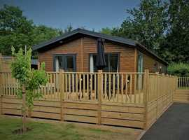 3 Bedroom Prestige Burleigh Holiday Lodge for sale Brokerswood Holiday Park, Westbury, BA13 4EH