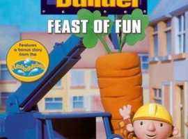 Bob the builder triple pack feast of fun teamwork and speedy skip