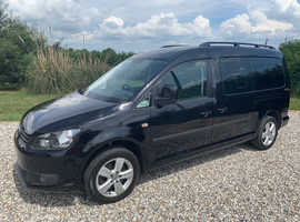2015 VW Caddy Maxi C20 Life TDI WAV Wheelchair Accessible Disabled 19K Miles