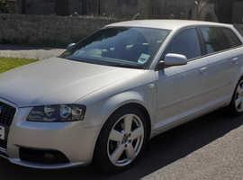 Audi A3, S-Line Long MOT 29/03/2022 No Advisories Service History