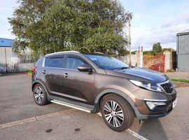 Kia Sportage, 2011 (11) Brown Estate, Manual Diesel, 85,220 miles