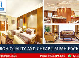 Cheap umrah packages with flights from the UK
