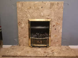 Cannon Caress Gas Fire with Surround