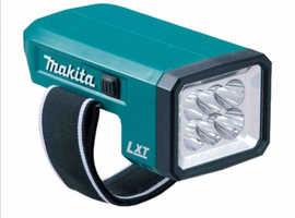 MAKITA DML186 18v LED Li-ion Cordless Flashlight Torch Body Only