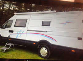 Motor Home very low mileage 36880  2.3 turbo diesel in good condition ford iveco daily
